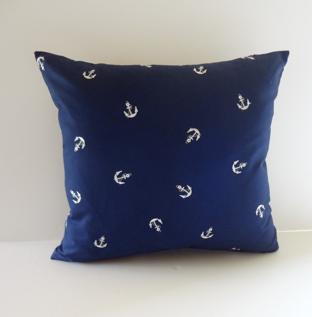 Beach Style Pillows : Petra&Jules Embellished Wear Nautical Pillows - Beach Style - Decorative Pillows - Los Angeles ...