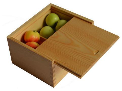 Gift Packing Boxes Wooden Box Slide Lid Modern