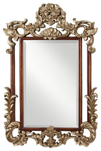 Murray Feiss Mr1128 Suzanne 55 Height X 36 Width Clear Retangular Mirror Traditional