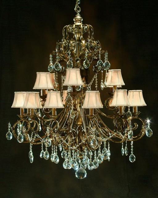 john richard 18 light chandelier ajc 8077 modern. Black Bedroom Furniture Sets. Home Design Ideas