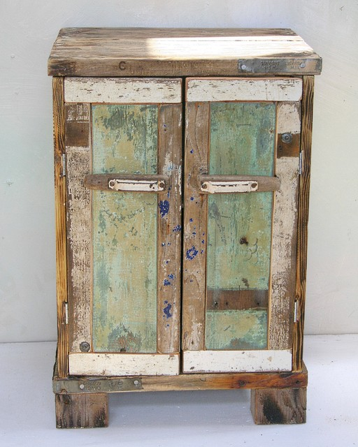 Driftwood Floorsatnding Cabinets Coastal Bathroom Cabinets South West By Julia 39 S