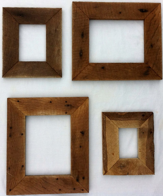 Reclaimed rustic barn wood picture frame by 3 sisters for 11x14 table top frame