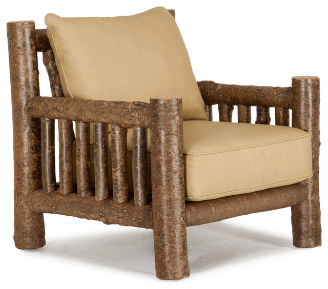 Rustic Lounge Chair 1276 Rustic Armchairs And Accent Chairs by La Lune