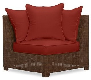 Palmetto Corner Sectional Cushion Slipcover Solid