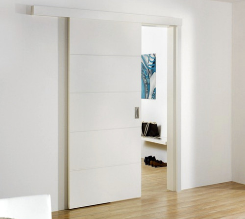 Too many doors! Does anyone have sliding doors for their ...