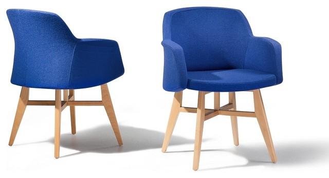 fauteuil si ge en tissu bleu ystad contemporain fauteuil par beliani france. Black Bedroom Furniture Sets. Home Design Ideas