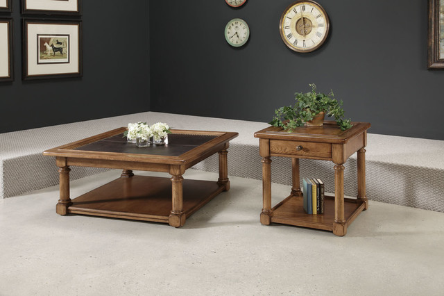 American Drew 114 910 Americana Home Square Cocktail Table Kd Traditional Coffee Tables