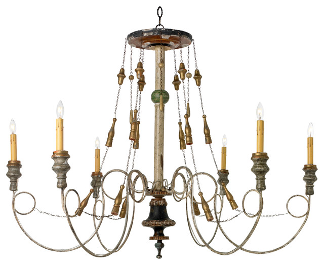 Normandy Chandelier Farmhouse Chandeliers by Canopy
