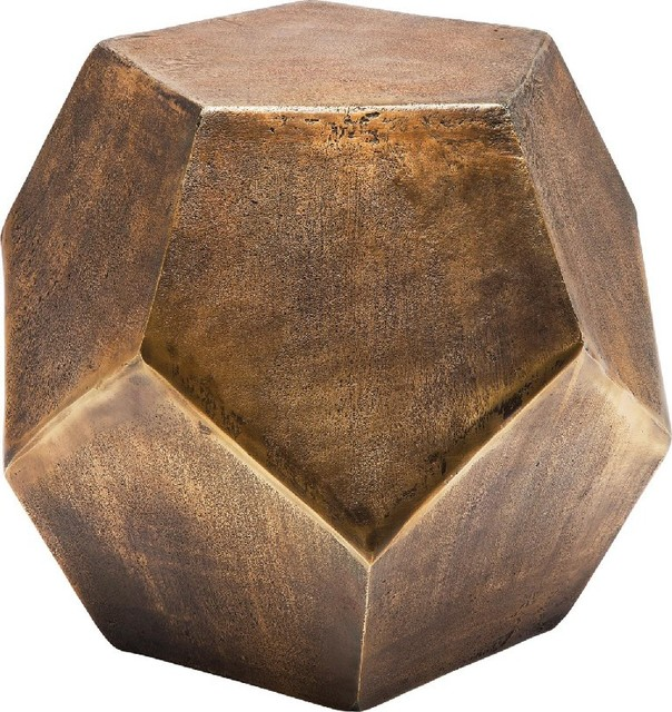 Beistelltisch Polygon Copper Contemporary Side Tables