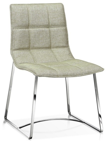 Modern Fabric Dining Chair Silverfox Contemporary Dining Chairs By ART