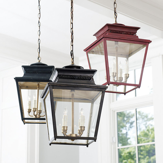 Piedmont 4 Light Lantern Traditional Outdoor Hanging