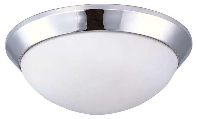 Maxim Lighting 87564SWPC Mode LED Modern Flush Mount Ceiling Light Contempo