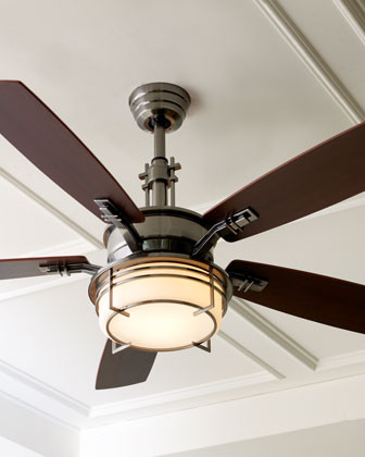 Modern Pewter Ceiling Fan Eclectic Ceiling Fans By Horchow