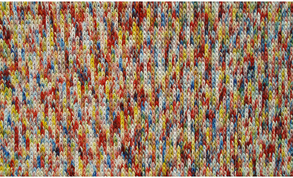 Braided Bunch Red Area Rug
