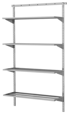 BRODER 1 Section Wall Upright Contemporary Display And