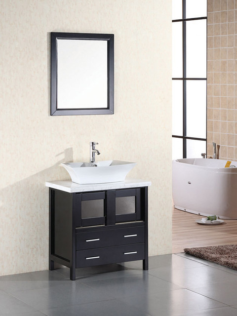 30 elite single bath vanity dec020 modern bathroom vanities and sink consoles san diego for Bathroom vanities san diego