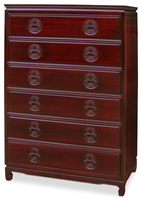 Rosewood longevity chest of drawers asian chests of for Asian furniture westmont il