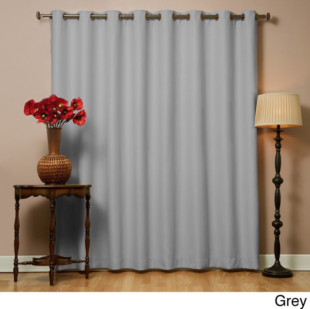 Wide Width Thermal 80 X 95-Inch Blackout Curtain Panel