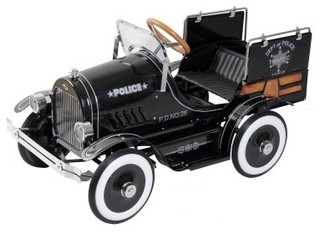 Pedal Stool Sink : Dexton Police Pick Up Roadster Pedal Car Riding Toy - Modern - Kids ...