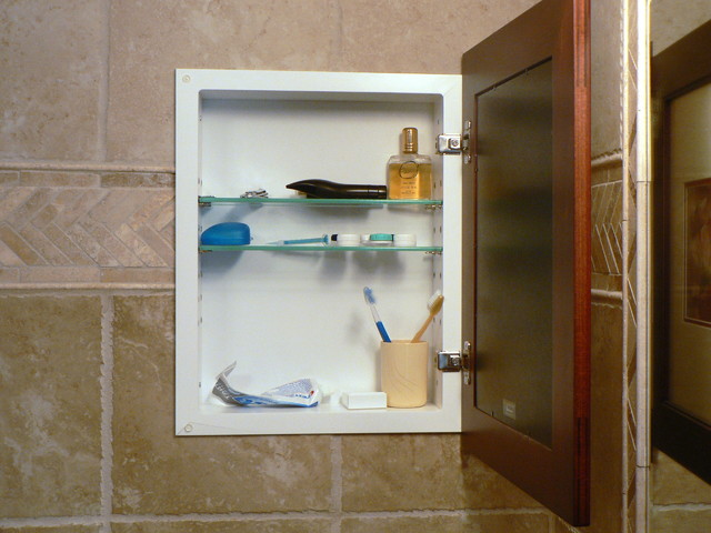bathroom mirror medicine cabinet recessed 2