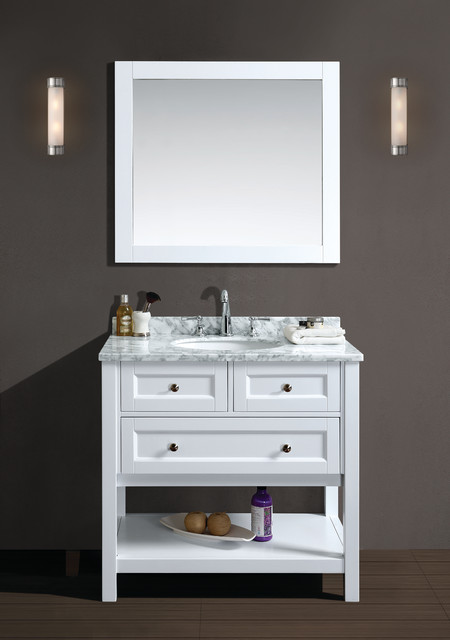 Ari Kitchen And Bath Bathroom Vanities Contemporary Bathroom Vanities And Sink Consoles