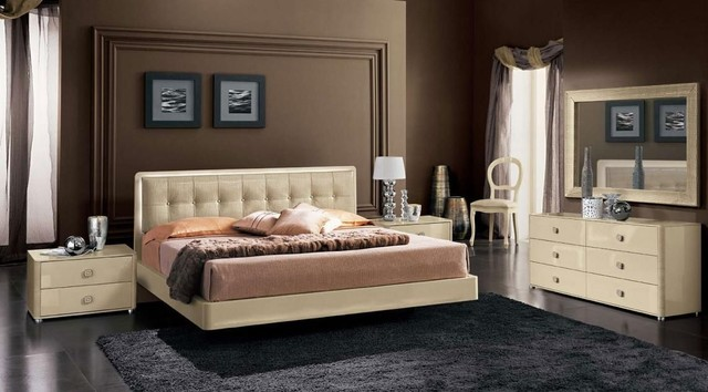 Made In Italy Leather Contemporary Master Bedroom Designs Modern Beds Miami By Prime