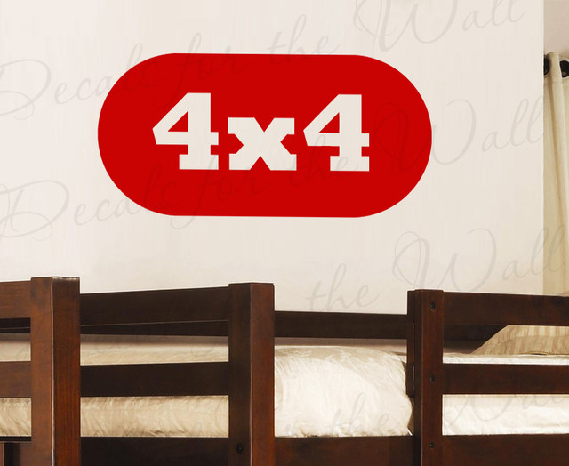 Wall Decal Quote Sticker Vinyl Art Lettering 4x4 Trucks ...