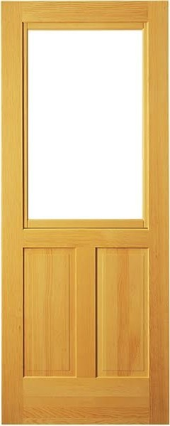 Classic pine door with b sash and screen 30 x81 for Door and screen door combo