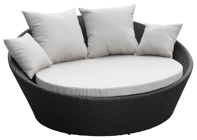 Mimosa Denarau Day Bed With Cushions Contemporary Patio Furniture And Out
