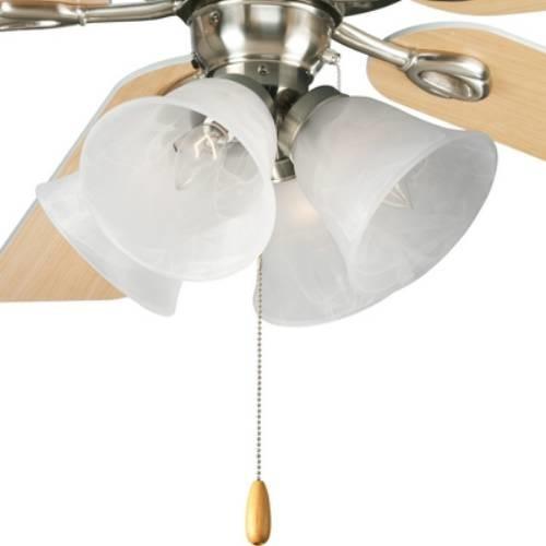 Progress Lighting P2643 09 Air Pro 4 Light Universal Fan