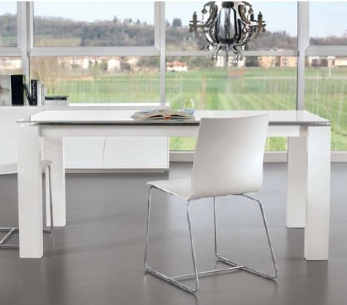 Montreal Extendable A Dining Table Shining Lacquer  : modern dining tables from houzz.co.uk size 500 x 440 jpeg 36kB