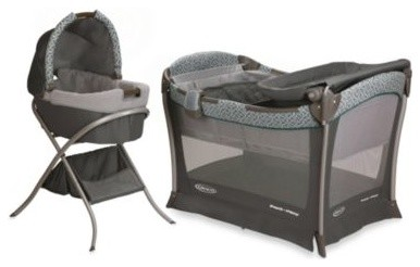 graco day2night sleep system bassinet playard all in one. Black Bedroom Furniture Sets. Home Design Ideas