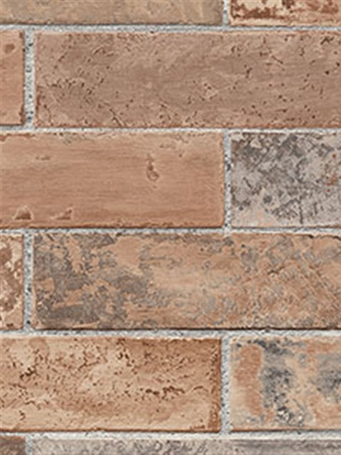 faux stone brick wallpaper - photo #28