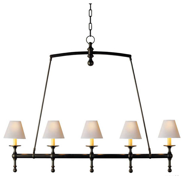 Classic linear chandelier traditional chandeliers by circa lighting - Circa lighting chandeliers ...