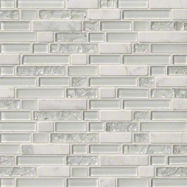 Crackle finish subway tile