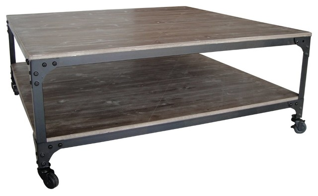 industrial coffee table square 2
