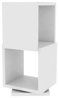 shell 2 drehregal bauhaus look regalsysteme von. Black Bedroom Furniture Sets. Home Design Ideas
