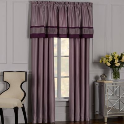 Illusions Window Panel Pair Contemporary Curtains By Bed Bath Beyond