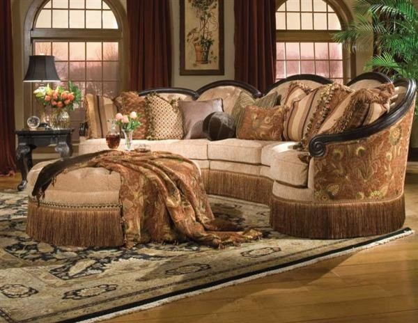 Lyrical Sectional - Victorian - Sectional Sofas - kansas city - by Victorian Trading Co.
