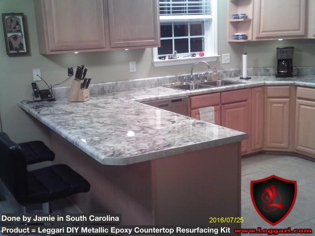 DIY Metallic Epoxy Countertop Resurfacing Kits - Modern - Kitchen Countertops - seattle - by ...