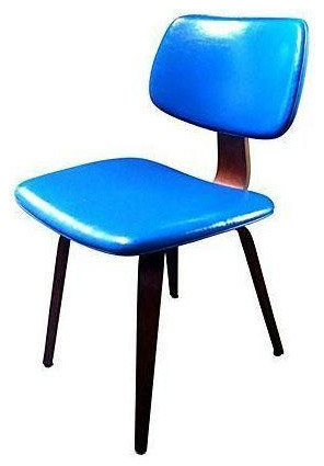 Vintage thonet molded plywood chair midcentury dining chairs san