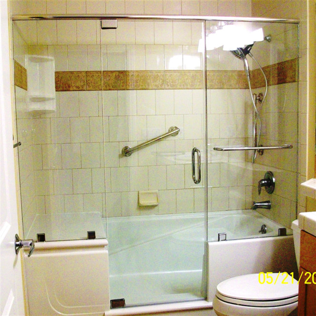 E Z Step Bathtub To Walk In Shower Conversion Traditional Other By Stev