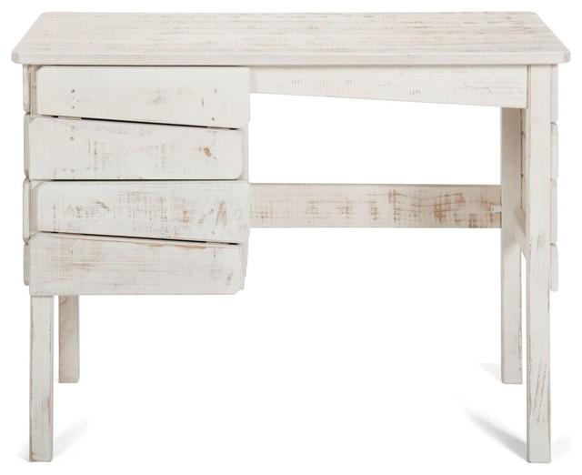 woody wood bureau junior 2 tiroirs contemporain bureau. Black Bedroom Furniture Sets. Home Design Ideas