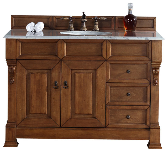 single vanity w drawers carrera white traditional bathroom vanities