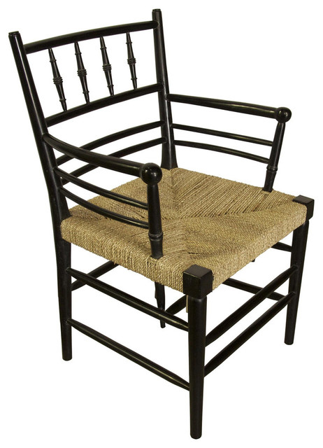 Spindle arm chair farmhouse armchairs and accent