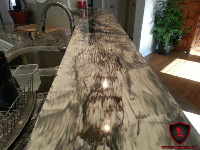 DIY Metallic Epoxy Countertop Resurfacing Kits - Modern ...