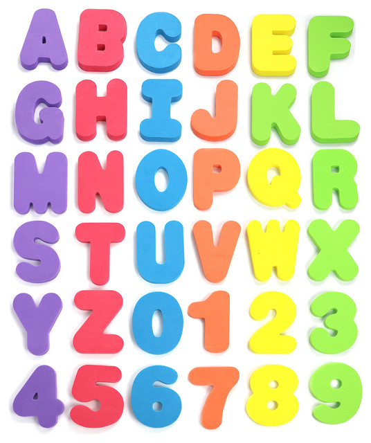 click n play bath foam letters and numbers with mesh bath