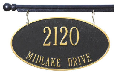 St Yorre Hanging Address Sign And Mounting Bar