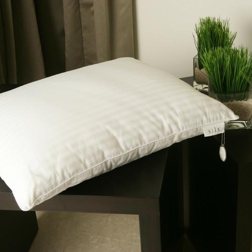 Modern Family Pillows On Bed : Double Silk-Filled Pillow modern-bed-pillows