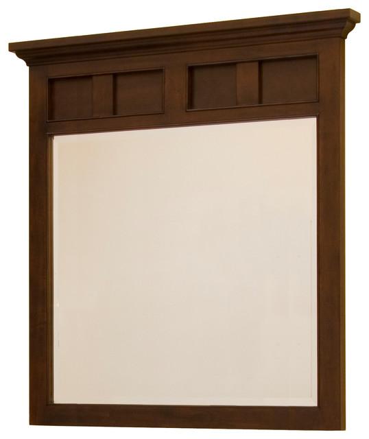 Somerset framed mirror craftsman bathroom mirrors by for Craftsman mirrors bathroom